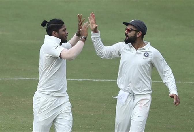 इस वजह से विराट कोहली ने जडेजा से छिनकर उमेश यादव को दिया था वेस्टइंडीज की दूसरी पारी का अंतिम ओवर 13