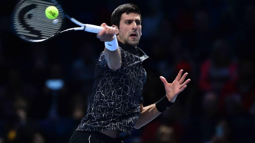 Tennis: Djokovic won the first group match of ATP Finals