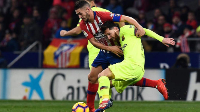 Spanish League: Barcelona played exciting draws from Atlético Madrid