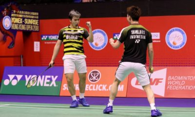 Badminton: Indonesia won the men's doubles title at the Hong Kong Open