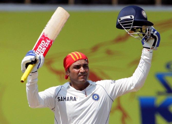 श्रीलंका के महान बल्लेबाज कुमार संगकारा ने भारत के वीरेन्द्र सहवाग को बताया दुनिया का सबसे निःस्वार्थ बल्लेबाज 4