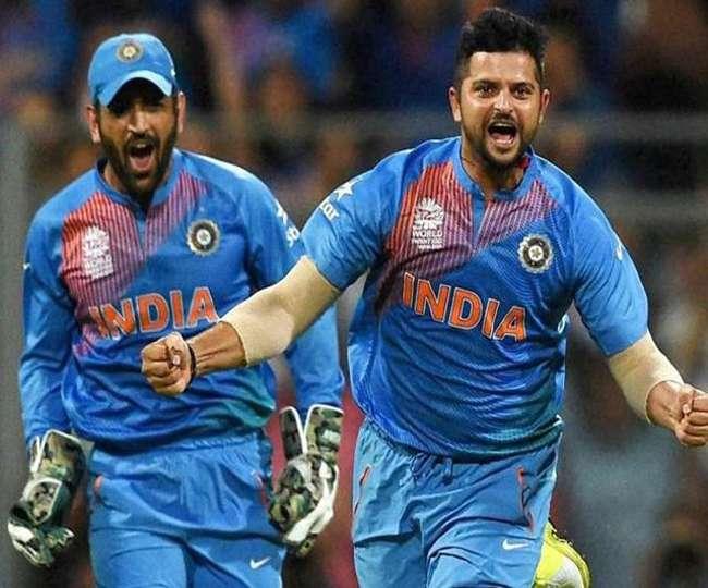 सुरेश रैना ने 5 साल बाद किया खुलासा क्यों पाकिस्तान के खिलाफ विश्व कप 2015 में धोनी ने उनसे नंबर 4 पर कराई बल्लेबाजी 2