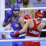 Women's Boxing: Manisha and Sarita win each other