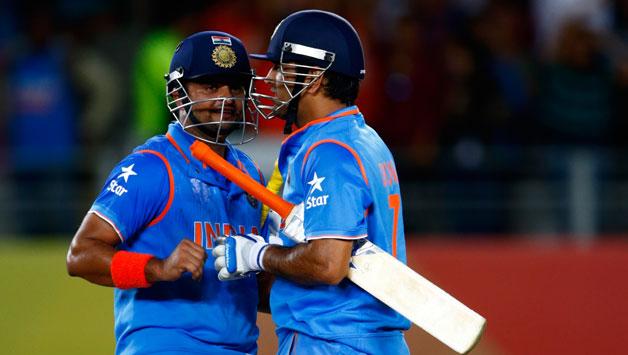 सुरेश रैना ने 5 साल बाद किया खुलासा क्यों पाकिस्तान के खिलाफ विश्व कप 2015 में धोनी ने उनसे नंबर 4 पर कराई बल्लेबाजी 1