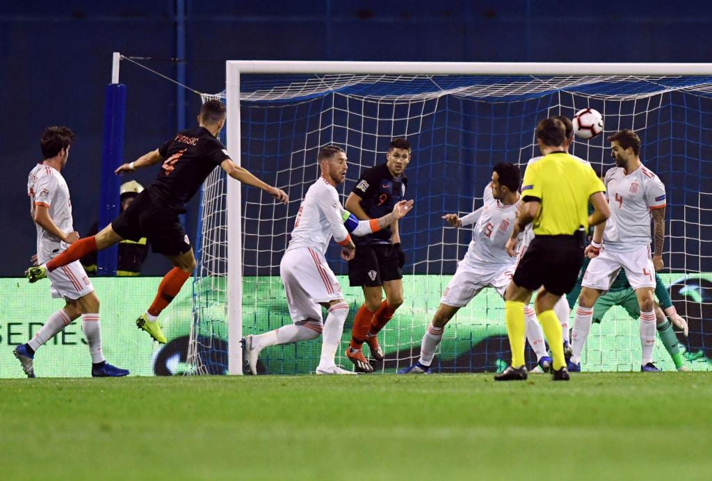 Spain won the friendly match with the goal of the brace