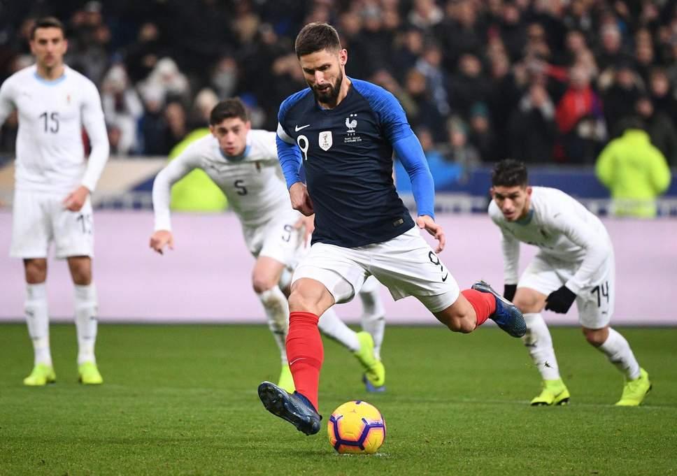 दोस्ताना मैच में फ्रांस ने उरुग्वे को दी मात 1