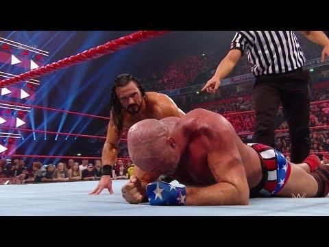 WWE रॉ रिजल्ट्स: 5 नवम्बर, 2018, सैथ रोलिंस के साथ नहीं उतरे डीन एम्ब्रोज, छिनी टैग-टीम चैंपियनशिप 8