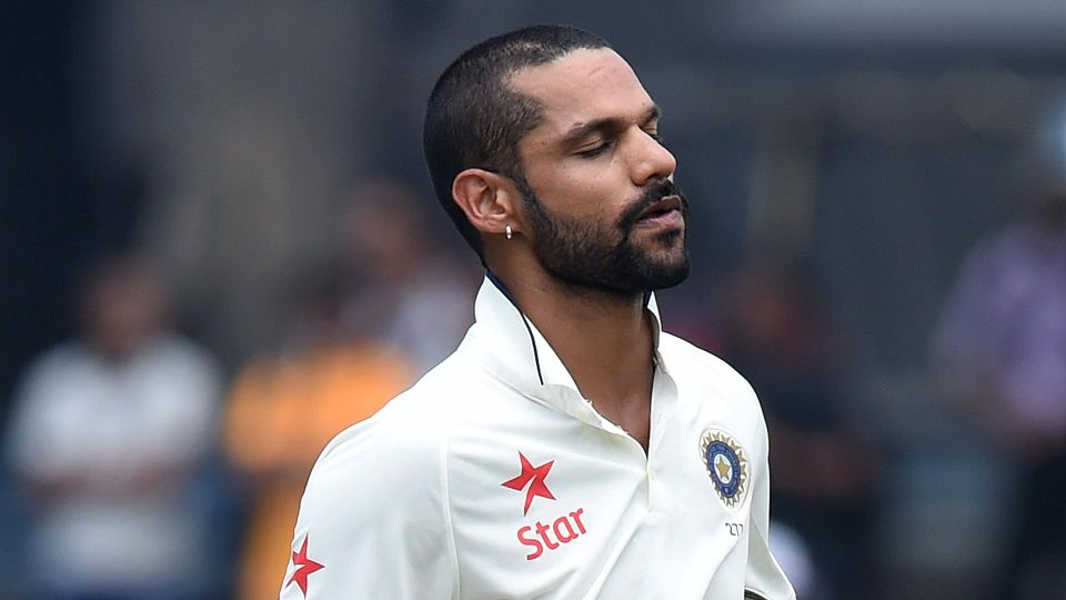 Was unhappy with not being included in the Test team: Dhawan