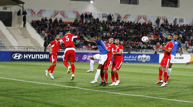 Soccer: Jordan defeated India 2-1 in friendly match