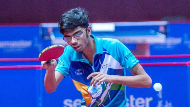 Manav Thakkar bronze medal in Belarus Open