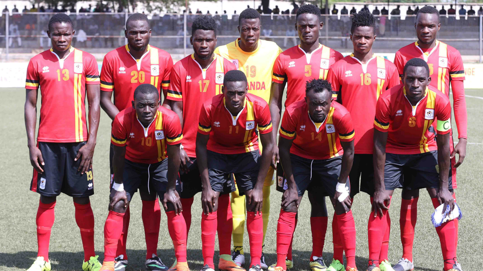 Football: Uganda team leaves for Nigeria for friendly match