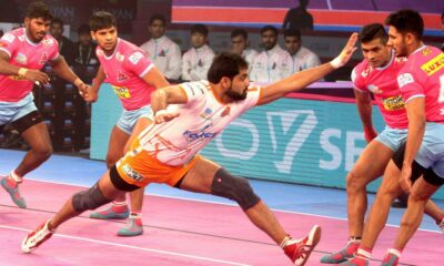 Pro kabaddi league: A winning start in the home leg of Jaipur