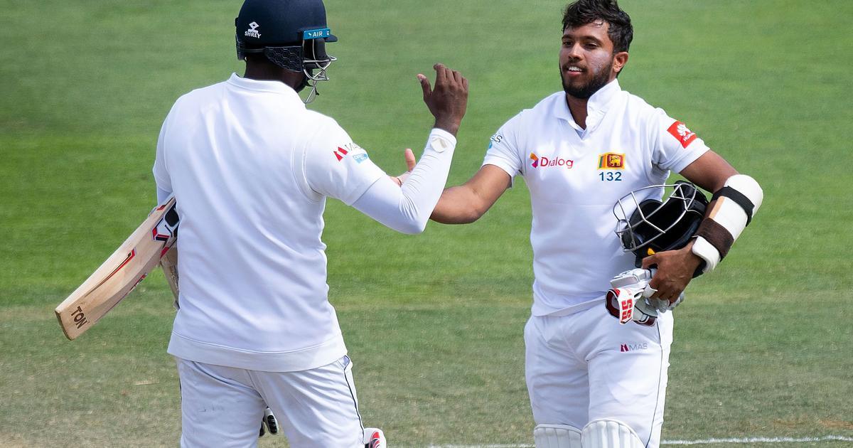 Wellington Test: Mendis, Sri Lanka from the record partnership of Mathews