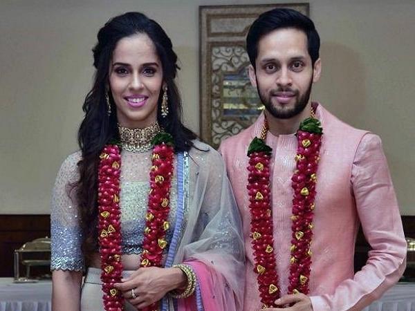 एक-दूजे के हुए साइना नेहवाल और पी. कश्यप, शादी की पहली तस्वीर आई सामने, देखें तस्वीरें 6