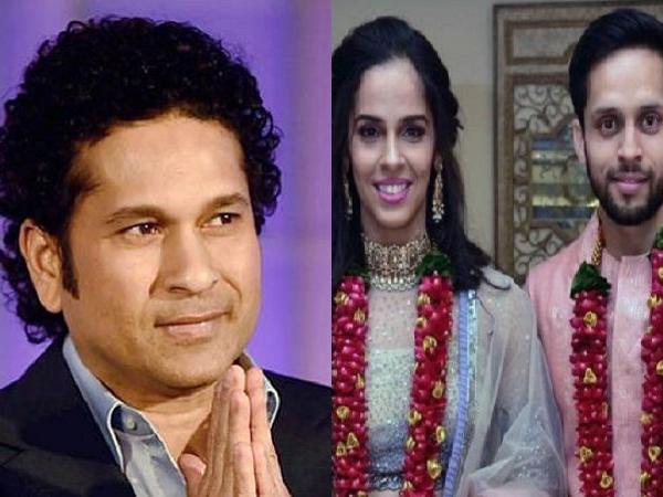 साइना नेहवाल को शादी की बधाई देने में सचिन तेंदुलकर से हुई बड़ी गलती, डिलीट करना पड़ा ट्वीट 4