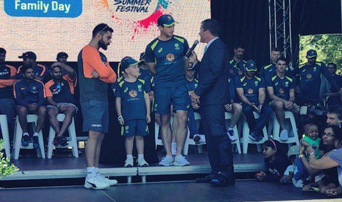 वीडियो: ऑस्ट्रेलिया ने 7 साल के बच्चे को बनाया कप्तान तो भारतीय कप्तान विराट कोहली ने दी कुछ ऐसी प्रतिक्रिया, देखें वीडियो 1