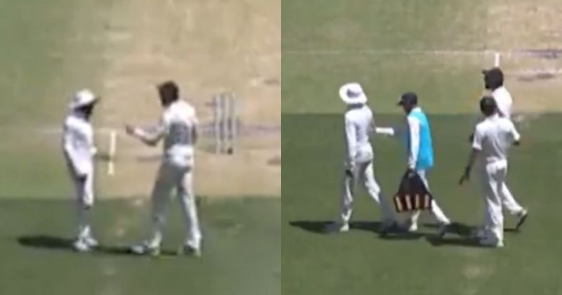 AUSvsIND: वीडियो: शर्मसार हुई खेल भावना, आपस में ही लड़ पड़े ईशांत शर्मा और रविन्द्र जडेजा 13