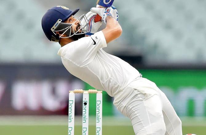 70.2 ओवर में मिचेल स्टार्क ने डाली ऐसा खतरनाक बाउंसर, रहाणे तो क्या दुनिया का कोई भी बल्लेबाज हो जाता आउट 4