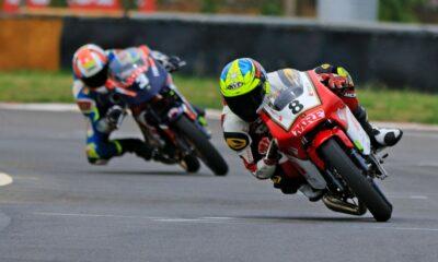 Jagan won the national motorcycle racing title
