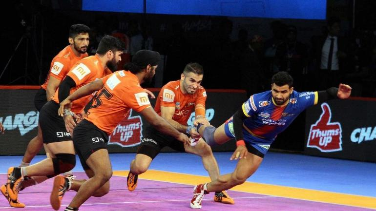 Pro Kabaddi League: UP Warrior defeats Mumba by 2 points