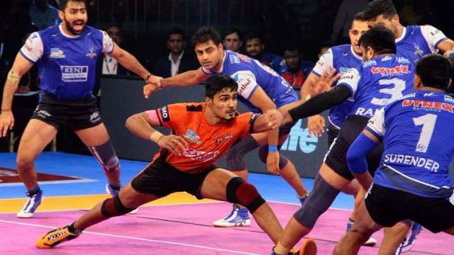 प्रो कबड्डी लीग : मुंबा ने रोका दिल्ली का विजय रथ 14