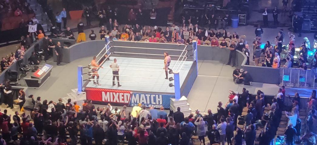 WWE स्मैकडाउन लाइव इवेंट ऑफ़-एयर होने के बाद लड़ा गया WWE वर्ल्ड चैंपियनशिप मैच 12