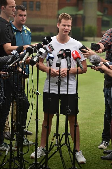 बॉल टेम्परिंग विवाद के आठ महीने बाद मीडिया के सामने आए 'स्टीव स्मिथ', वापसी पर कही ये बात 3