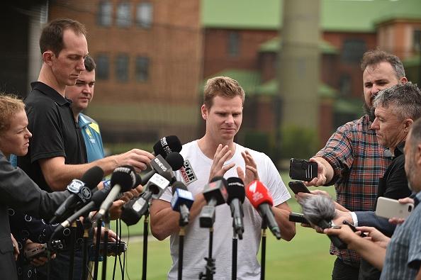 बॉल टेम्परिंग विवाद के आठ महीने बाद मीडिया के सामने आए 'स्टीव स्मिथ', वापसी पर कही ये बात 2