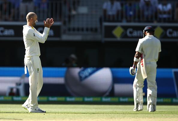 AUSvsIND: विराट कोहली को नाथन लायन ने डाली मिस्ट्री गेंद, लगातार दूसरी बार बनाया शिकार, देखें वीडियो 5