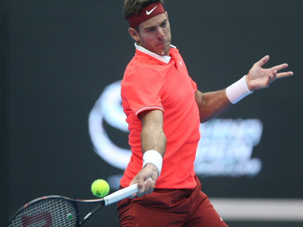 Tennis: Del Potro returned to training after injury