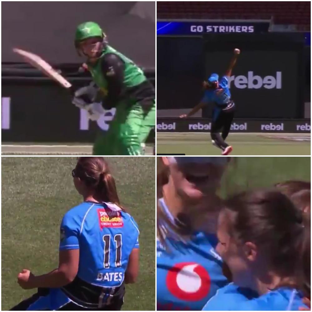 वीडियो : महिला बिग बैश लीग में सूजी बेट्स ने एक हाथ से पकड़ा ऐसा अविश्वसनीय कैच, देख हर कोई रह गया आश्चर्यचकित