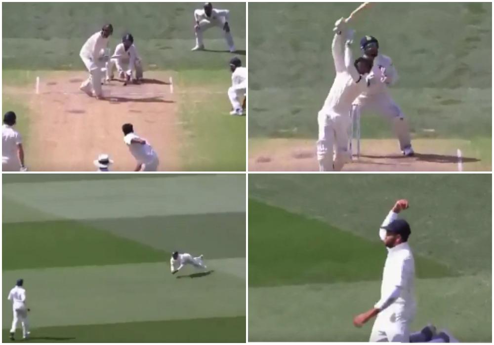 AUSvsIND: वीडियो: 23.2 ओवर में रोहित शर्मा ने लपका शानदार कैच, मैच में भारत ने कसा शिकंजा 5