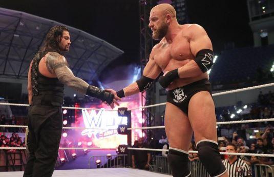 ऐसे WWE रैसलर, जिन्हें बहुत सम्मान की नज़र से देखते हैं ट्रिपल एच 13