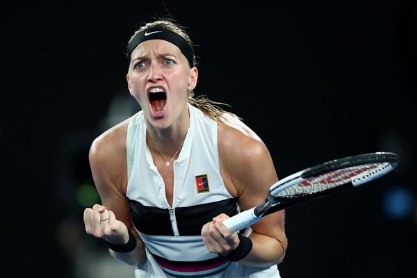 Tennis: Quitova St. Petersburg quarter-final of Ladies Trophy