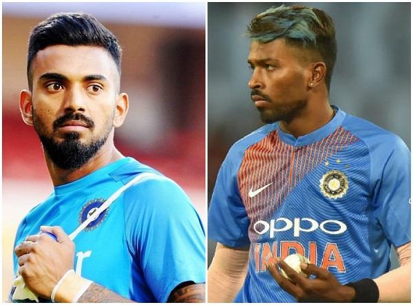 REPORTS : हार्दिक पांड्या पर दो मैच का बैन, केएल राहुल को सिर्फ चेतावनी