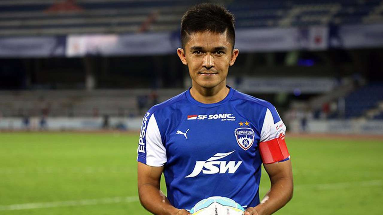 Sunil Chhetri to be the sixth footballer to receive Padma Shri