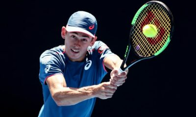 Tennis: De Minor in the final of Sydney International defeating Simon