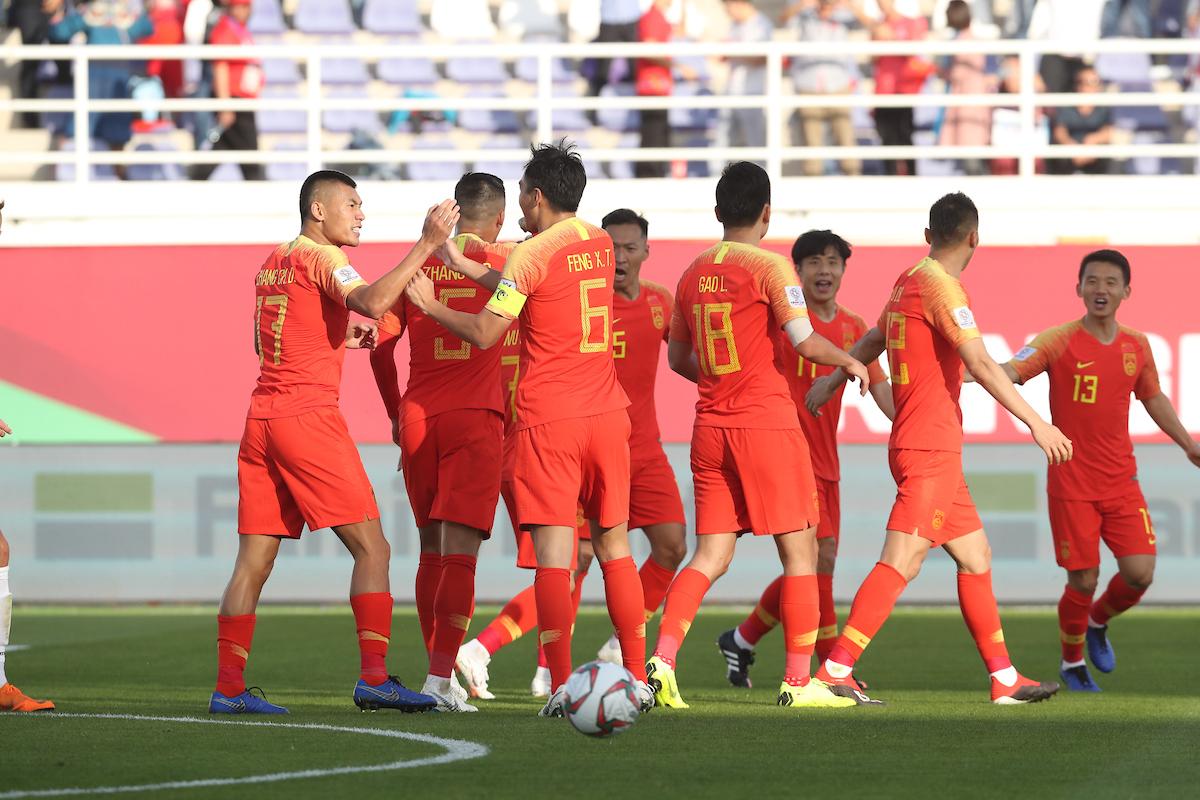 Asian Cup: China beat Kyrgyzstan 2-1