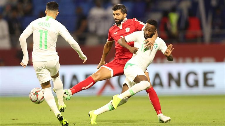 AFC Asian Cup: Saudi Arab League defeats Lebanon in next round