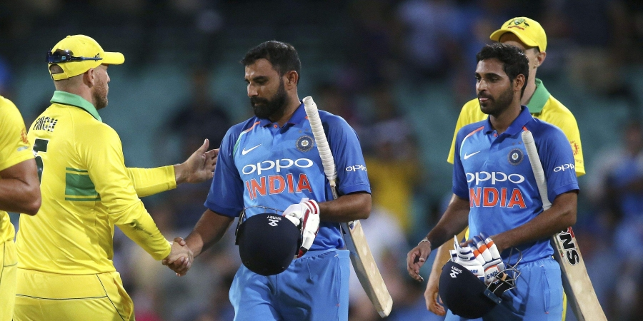 Sydney ODI: Australia beat India by 34 runs