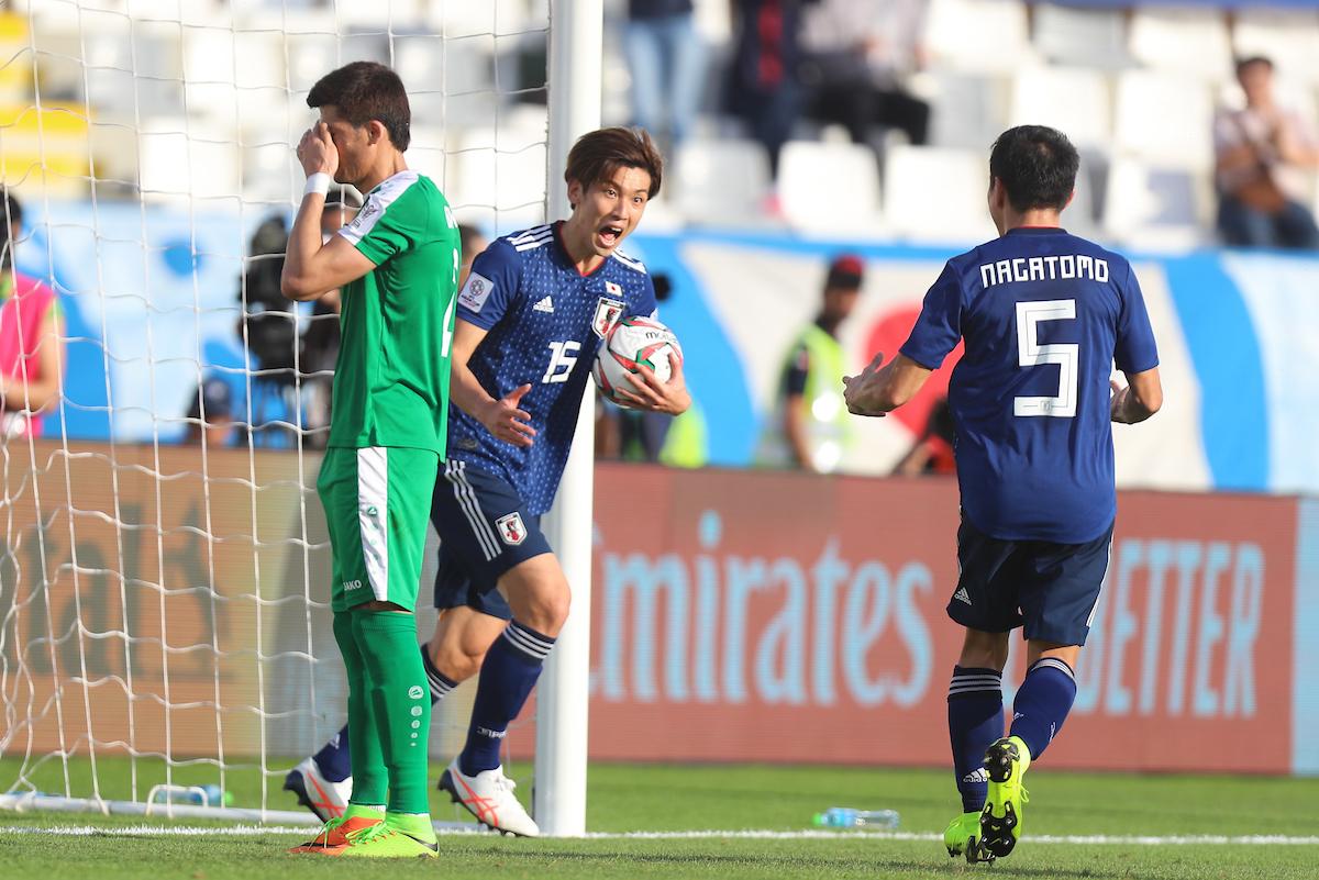 AFC Asian Cup: Japan defeats Turkmenistan