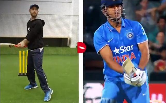 भारत को वनडे सीरीज में हराने के लिए ग्लेन मैक्सवेल ने सीख लिया हैं एमएस धोनी का हेलिकॉप्टर शॉट, देखे वीडियो