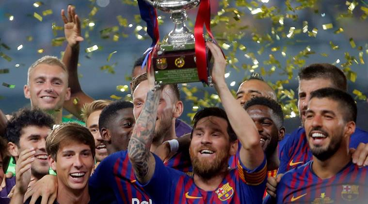 Spanish League: Messi wins Barcelona win