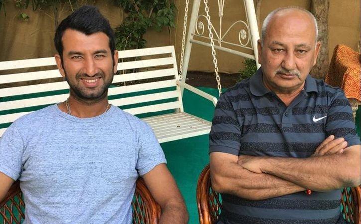 चेतेश्वर पुजारा सिडनी में भारत को जीताने के लिए कर रहे थे बल्लेबाजी और इधर मुंबई हॉस्पिटल में पिता लड़ रहे जिन्दगी की जंग 1