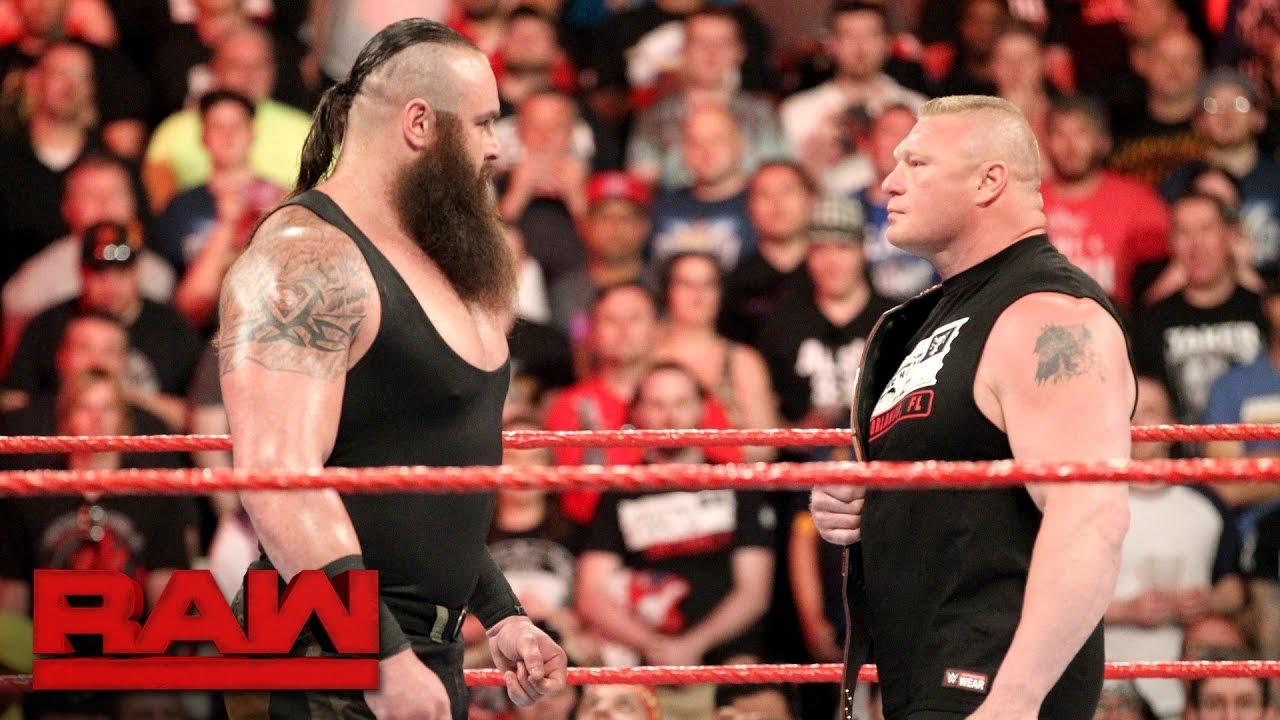 WWE रॉ लाइव इवेंट में ब्रॉन स्ट्रोमैन और ब्रॉक लैसनर होंगे आमने-सामने, डेट हुई फाइनल 1