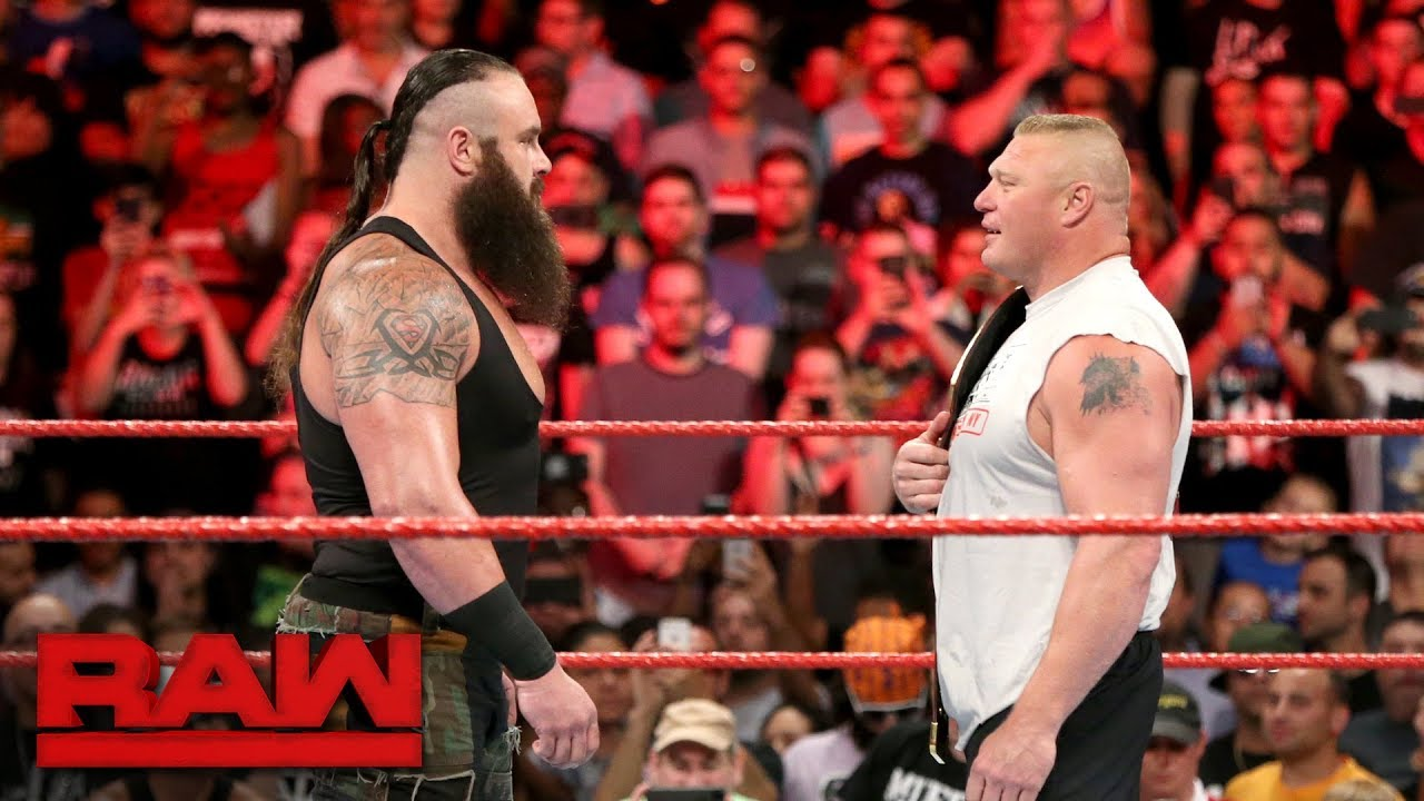 WWE रॉ लाइव इवेंट में ब्रॉन स्ट्रोमैन और ब्रॉक लैसनर होंगे आमने-सामने, डेट हुई फाइनल 4