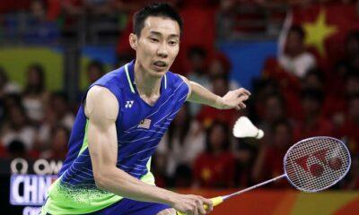 Lee Chong returns 6 months after badminton court