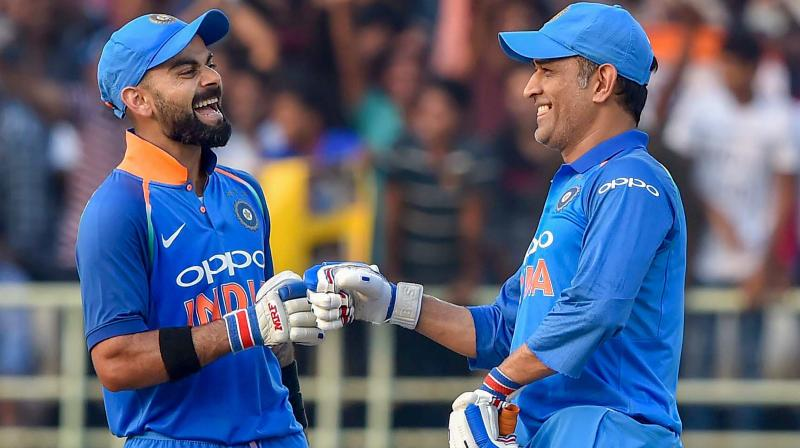 Kohli called the innings 'classic' to Dhoni