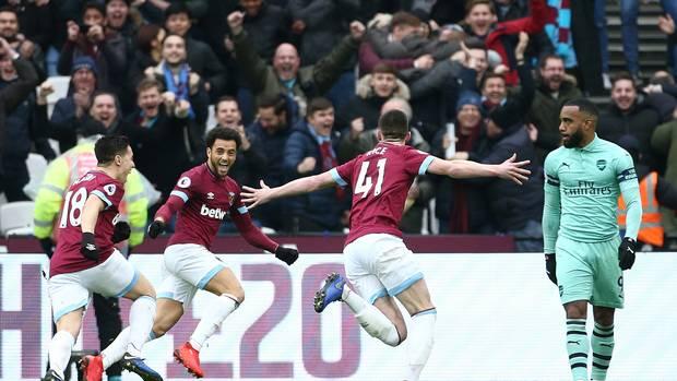 Premier League: West Ham rebounds against Arsenal
