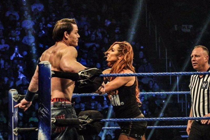 WWE स्मैकडाउन रिजल्ट्स: 1 जनवरी, 2019, बैकी लिंच ने लिया जॉन सीना से पंगा 7
